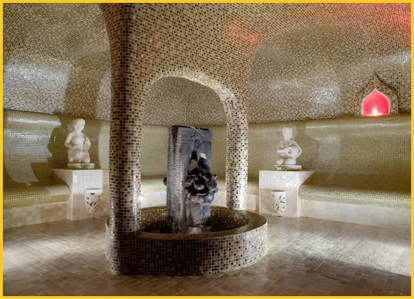 steam room at Mango Tree Spa by L'OCCITANE